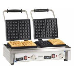 Podwójna gofrownica   60°C do 300°C   3200W   230V   566x415x(H)290mm