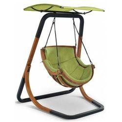 Zielony fotel wiszący do ogrodu - Pasos 3X