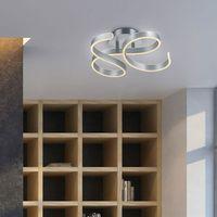 Lampy sufitowe, Trio Francis 671310105 plafon lampa sufitowa 1x42W LED 3000K szczotkowane aluminium
