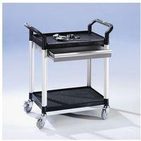 Wózki i stoły narzędziowe, Wózek uniwersalny z szufladami,dł. x szer. x wys. 850 x 480 x 950 mm, 1 szuflada