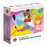 Pozostałe zabawki edukacyjne, Zabawka ALEXANDER Rysowanie-Zmazywanie Dla Dziewczynek