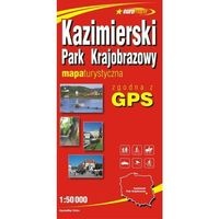 Mapy i atlasy turystyczne, Kazimierski Park Krajobrazowy mapa 1:50 000 ExpressMap (opr. miękka)