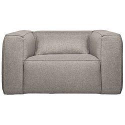 Woood fotel bean light grey z poduszką 377317-g