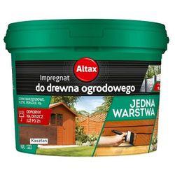 ALTAX- impregnat do drewna ogrodowego, kasztan, 10 l