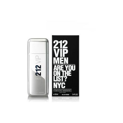 Pozostałe zapachy męskie, Carolina Herrera 212 Vip Men 100 ml - Carolina Herrera 212 Vip Men 100 ml
