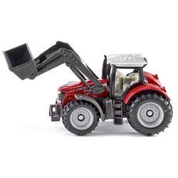 Traktor massey ferguson z przednią ładowarką