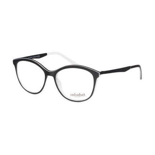 Okulary korekcyjne, Red Velvet RV 20107 F + szkła z AR