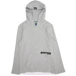 TOM TAILOR Koszulka 'T-shirt with hood' szary