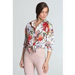 Jasna koszula damska w kwiaty 8J40AB Oferta ważna tylko do 2031-05-20