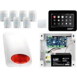 NeoGSM-IP Aero System alarmowy 7x czujka bezprzewodowa Powiadomienie GSM Wifi Zestaw