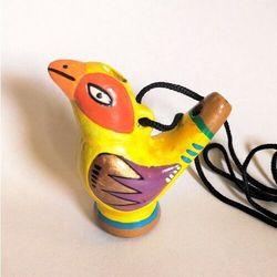 Okaryna - ptak piszczałka