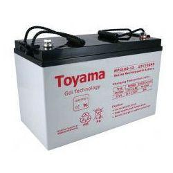 Akumulator żelowy Toyama 12V 100Ah NPG100-12 M8
