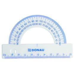 Kątomierz DONAU, 10cm, 180°, transparentny