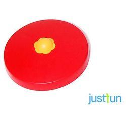 Nakładka plastikowa na belkę okrągłą Ø100 mm - czerwony