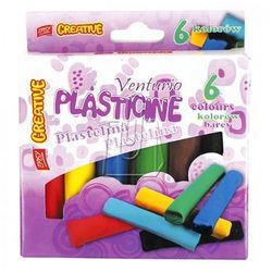Plastelina Easy 6 kolorów