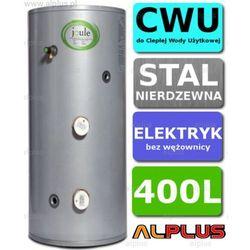 Bojler elektryczny 400L JOULE CYCLONE DIRECT nierdzewka grzałka 2x3kW podgrzewacz CWU bez wężownicy Wysyłka gratis!