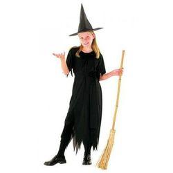 Strój na Halloween Wiedźma 7 - 9 lat, kostium/ przebranie dla dzieci, odgrywanie ról