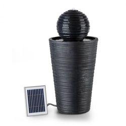 Liquitorre XL Fontanna solarna 200 l/h panel solarny 2 W akumulator LED tworzywo Polyresin