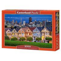 Puzzle, Puzzle 1000 Painted Ladies, San Francisco - Castor OD 24,99zł DARMOWA DOSTAWA KIOSK RUCHU