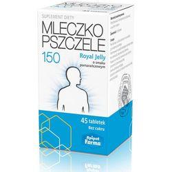 Mlecz.pszcz.ROYAL JELLY 150 mg tabl.do ssania - 45 tabl.