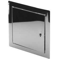 Drzwiczki metalowe Awenta nierdzewne 20 x 20 cm