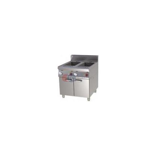 Makaroniarki gastronomiczne, Urządzenie do gotowania makaronu 2-komorowe 80 l Red Fox linia 900 VT 90/80 E