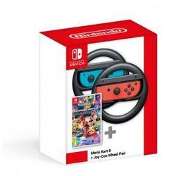Nakładka na kontroler NINTENDO Switch Joy-Con Wheel Pair + Mario Kart 8 Deluxe