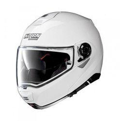 NOLAN N100-5 CLASSIC N-COM 005 biały połysk kask szczękowy