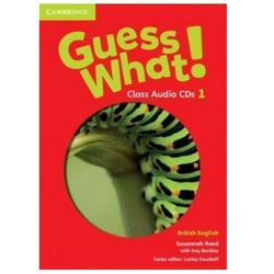 Guess What! 1 Class Audio 3CD British English