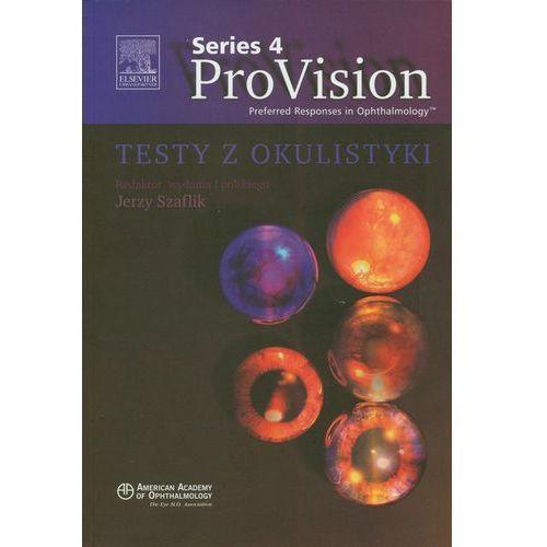 Książki medyczne, ProVision Series 4 Testy z okulistyki (opr. miękka)