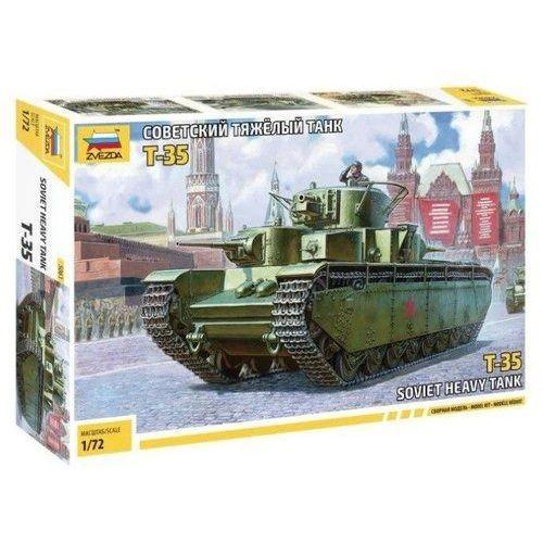 Figurki i postacie, Model plastikowy Radziecki czołg ciężki T-35