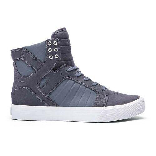 Męskie obuwie sportowe, buty SUPRA - Skytop Hf Magnet-Grey (MGT) rozmiar: 42