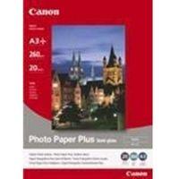 Papiery fotograficzne, Canon Photo Paper Plus semi-glossy, 20 ark. SG201A3+ 1686B032 Darmowy odbiór w 21 miastach!