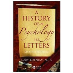 History of Psychology in Letters (opr. miękka)