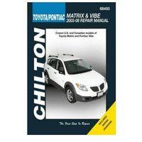 Biblioteka motoryzacji, Toyota/Pontiac Matrix & Vibe 2003 -08 (Chilton USA)