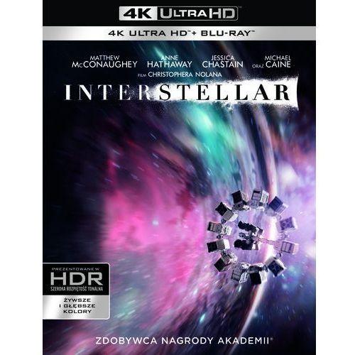 Filmy fantasy i s-f, Interstellar (Blu-ray 4K) - Christopher Nolan DARMOWA DOSTAWA KIOSK RUCHU