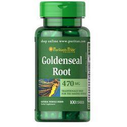 Puritan's Pride Goldenseal Root 470mg 100 kaps.