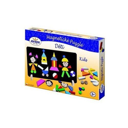 Puzzle, Magnetické puzzle Děti