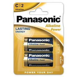 2 x Panasonic Alkaline Power LR14 / C (blister)