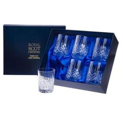 Royal Scot Crystal Szklanki London do Whisky 330ml 6szt.