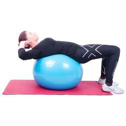 Piłka gimnastyczna inSPORTline Top Ball 45 cm - Kolor Ciemny szary