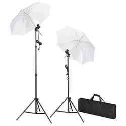 vidaXL Zestaw oświetleniowy do studio ze statywami i parasolkami Darmowa wysyłka i zwroty