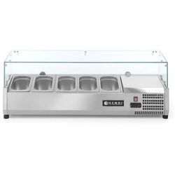 Nadstawa chłodnicza 5x GN 1/4   1200x335x(H)430mm