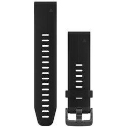 Garmin QuickFit Silikonowy pasek do zegarka 20mm, czarny 2020 Akcesoria do zegarków
