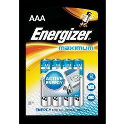 Bateria Energizer MAXIMUM AAA LR03 /4szt.