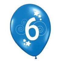 Balony, Balony z nadrukiem 6 - 30 cm - 12 szt.