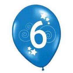Balony z nadrukiem 6 - 30 cm - 12 szt.