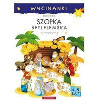 Książki dla dzieci, Szopka betlejemska Wycinanki (opr. kartonowa)
