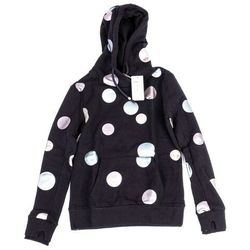 bluza BENCH - Her. Hoody Metallic Dots Metallic Dot Print On Black Be (P1368) rozmiar: XS