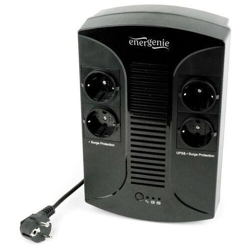 UPSy, Ups Gembird-energenie Line-interactive 650va Led, 4x Schuko 230v Out, Obudowa Floor